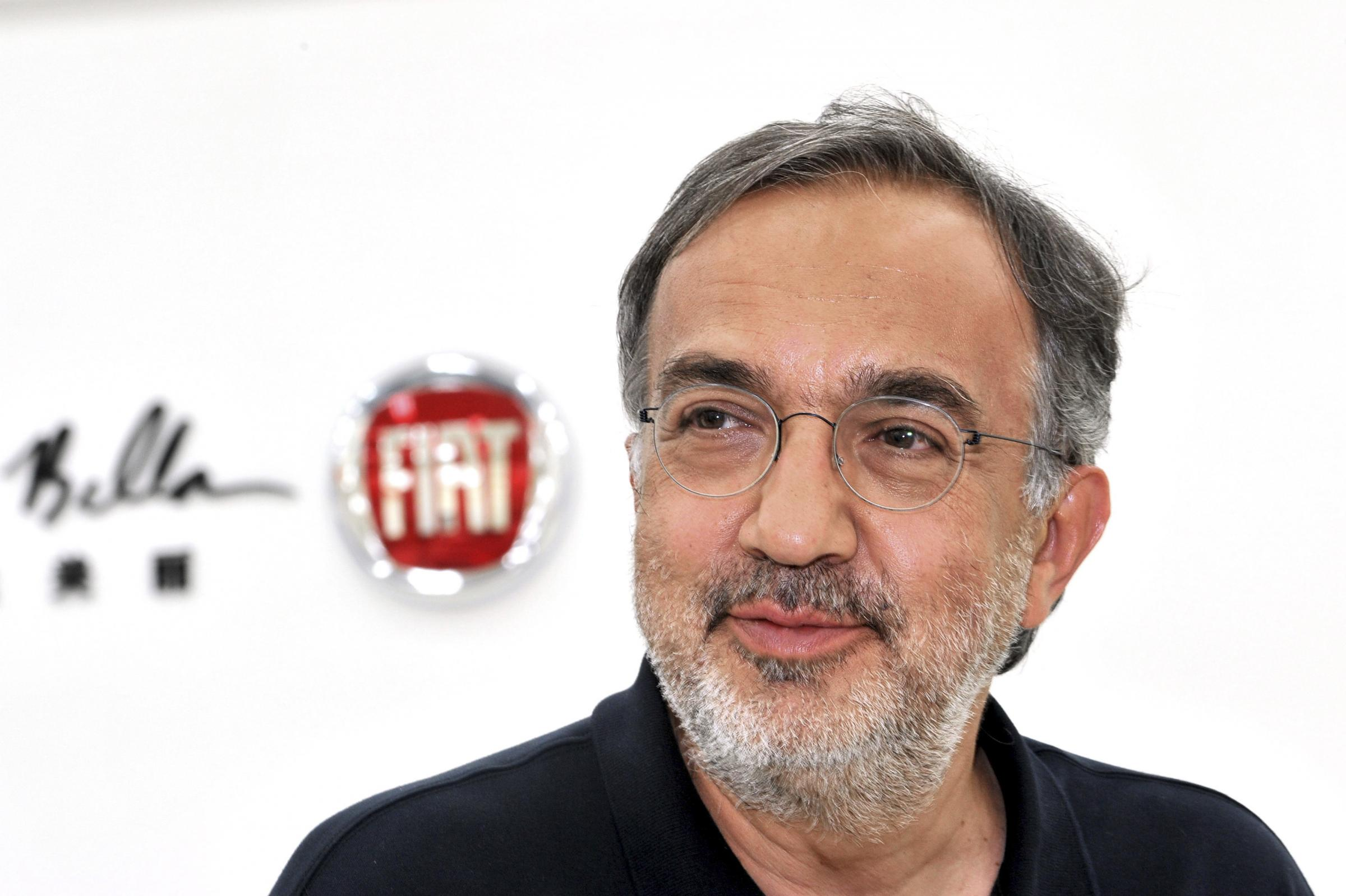 Sergio Marchionne, CEO of Fiat SpA